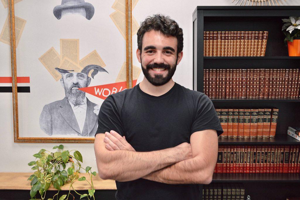 Javi Rameerez at Urban Campus Madrid coworking space